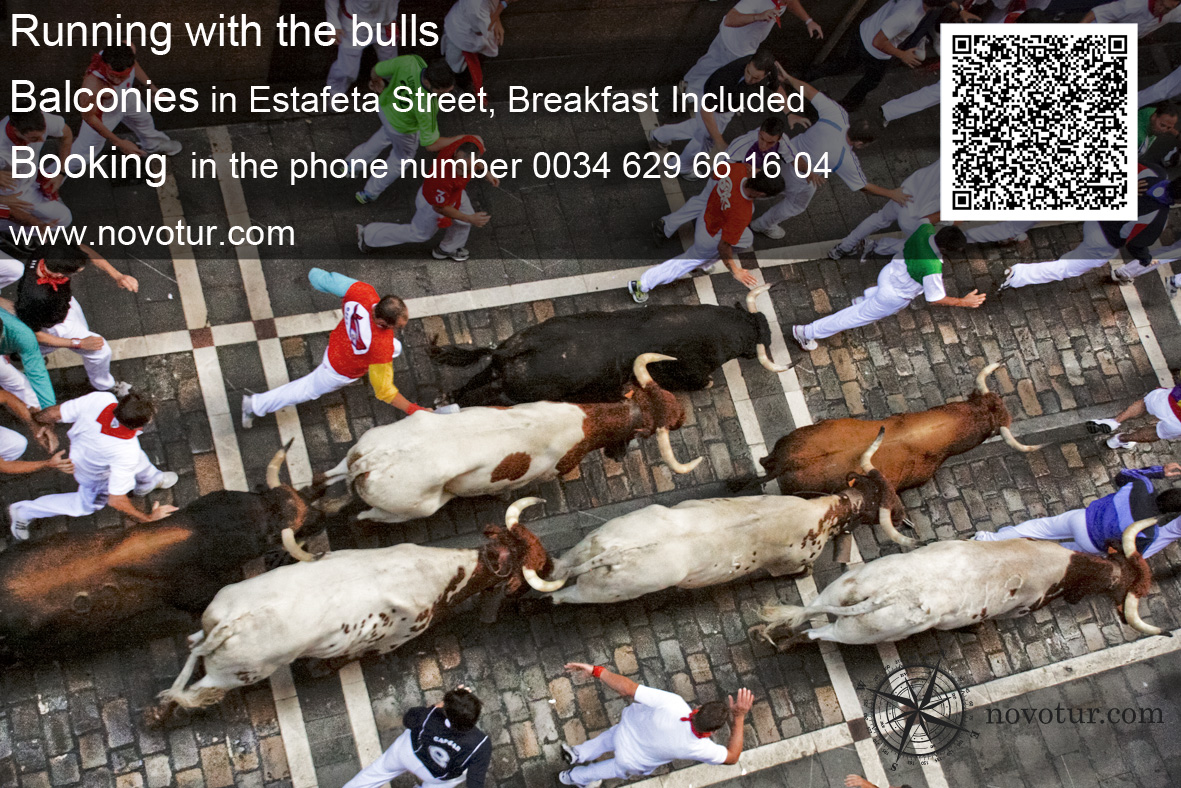 balconies Running with the bulls 2014